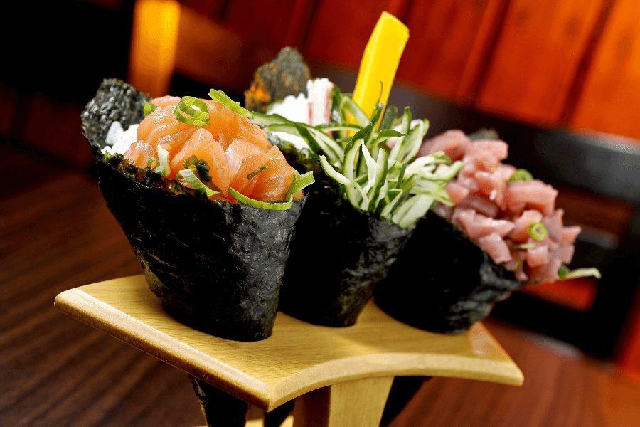 Hvad Er Maki Sushi Temaki Rullen