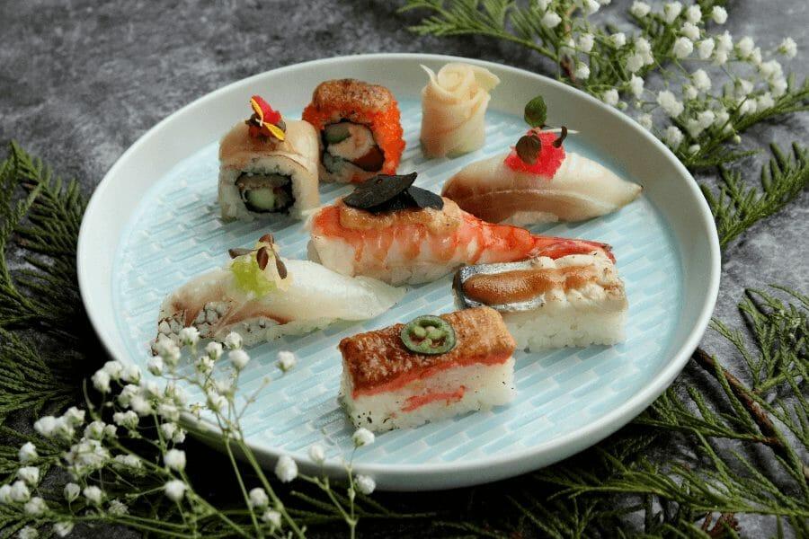 6 forskel mellem Japanske sushi og Dansk sushi