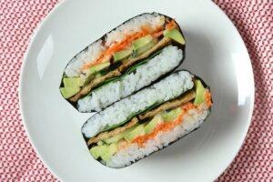 Onigirazu Sushi Sandwich
