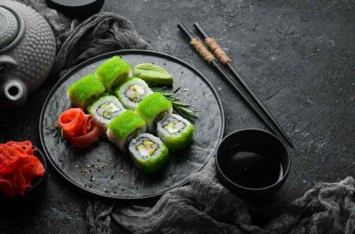 Tobiko og Masago - Forskellige typer rogn til sushi