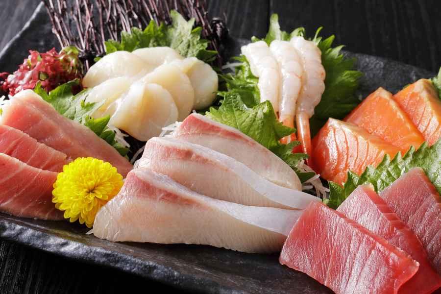 Japansk Mixed Sashimi