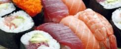 5 typer sushi alle burde vide