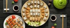 klar til at spise sushi