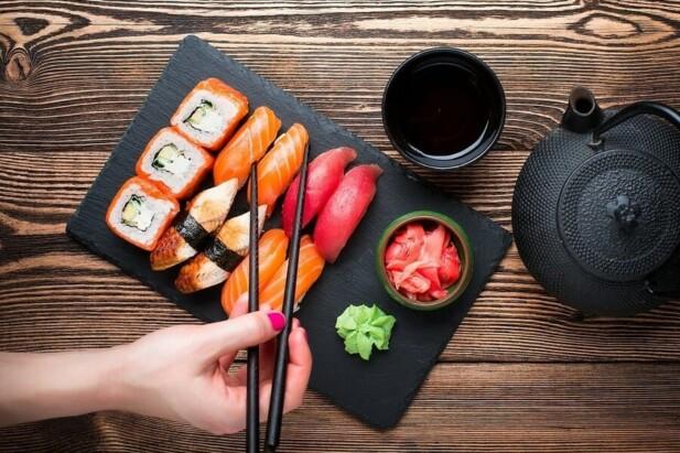 de forskellige slags sushi