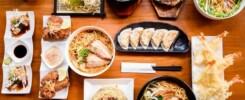 en typisk japansk måltid