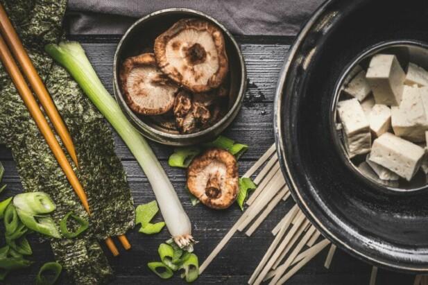 japanske køkken krydderier