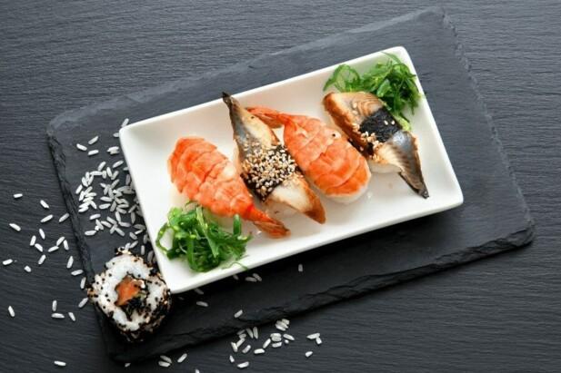 nigiri sushi er den mest velkendte sushi