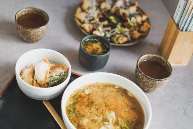 traditionel japansk mad