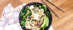 vegetarisk japansk mad