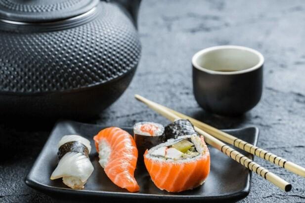 Den traditionelle måde at spise Sushi på